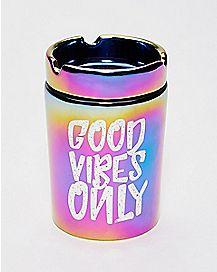 Good Vibes Only Ashtray Storage Jar - 6 oz.