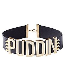 Harley Quinn Black Puddin Choker Necklace - Suicide Squad