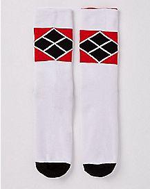 Harley Quinn Reversible Crew Socks - DC Comics