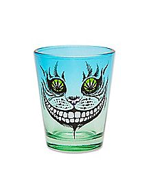 Weed Leaf Cat Eyes Shot Glass - 1.5 oz.