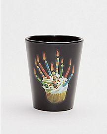 Happy F'ing Birthday Cupcake Shot Glass - 1.5 oz.