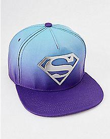 Ombre Superman Snapback Hat