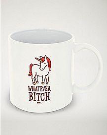 Whatever Bitch Unicorn Coffee Mug - 20 oz.