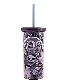 The Nightmare Before Christmas Cup with Straw - 20 oz