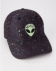 Believe Alien Dad Hat