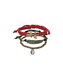 Beauty and the Beast Bracelet 3 Pair - Disney