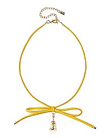 Rose Beauty and the Beast Choker Necklace - Disney