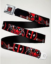 Splatter Deadpool Seatbelt Belt - Marvel