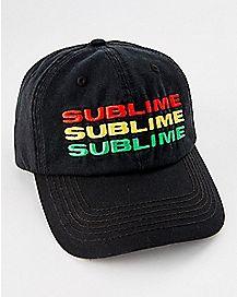 Triple Logo Sublime Dad Hat