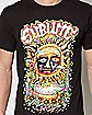 Graffiti Sun Sublime T Shirt