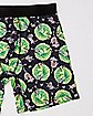 Swirl Rick and Morty Boxers