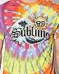 Tie Dye Sublime T Shirt