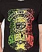 Rasta Sublime T Shirt