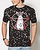 Splatter Rabbitgram T Shirt