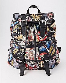 Wonder Woman Backpack - DC Comics