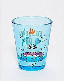 Mr. Meeseeks Shot Glass 1.5 oz. - Rick and Morty