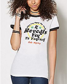 It Reveals You Bob Marley T Shirt