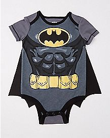 Caped Batman Baby Bodysuit - DC Comics