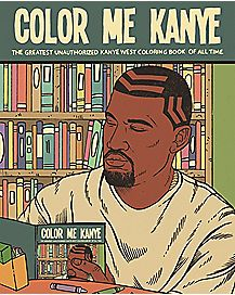 Color Me Kanye Coloring Book