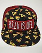 Pizza Is Life Trucker Hat