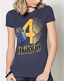 Yu Nishinoya Bird T Shirt - Haikyu!!
