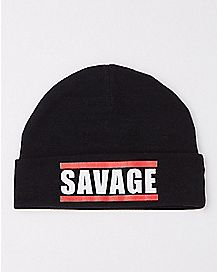 Savage Baby Beanie Hat