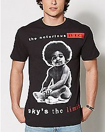 Sky's The Limit Biggie T Shirt