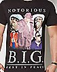 Rest In Peace Notorious BIG T Shirt