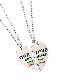 One Love Bob Marley Friendship Necklaces