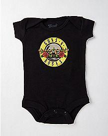 Guns N' Roses Baby Bodysuit