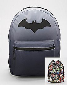 Reversible Batman Backpack - DC Comics