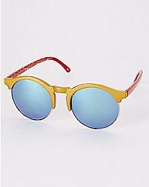 Wonder Woman Round Sunglasses- DC Comics