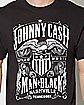 Johnny Cash Outlaw Nashville T Shirt