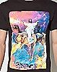 Jesus Dinosaur Galaxy T Shirt