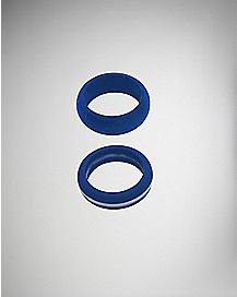 Blue Rubber Rings - 2 Pack