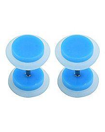 Blue Fake Plugs - 18 Gauge