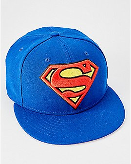 Superman Snapback Hat - DC Comics