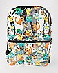 Clear Starters Pokemon Backpack