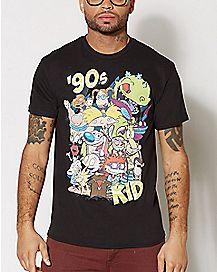 90's Kid T Shirt - Nickelodeon