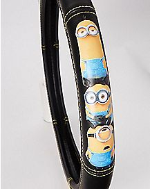 Minions Steering Wheel Cover - Despicable Me