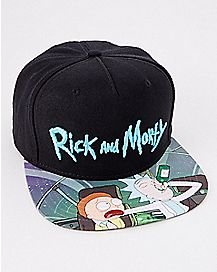 Sublimated Rick and Morty Snapback Hat