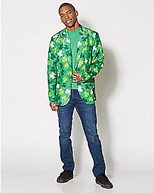 03d0b61bd St. Patrick's Day Suit Jacket - Spencer's