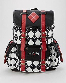 Drawstring Harley Quinn Backpack