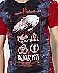 Tie Dye UK Tour Led Zeppelin T Shirt