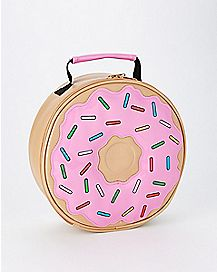 Pink Donut Lunch Box
