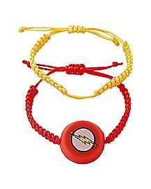 LED Bungie Cord The Flash Watch 2 Pack - DC Comics