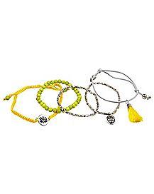 Yellow Chakra Bracelets