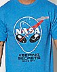 CMT-Keeping Secrets Nasa T Shirt