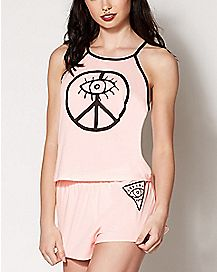 Mystical Tank Top and Shorts Set