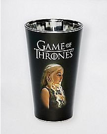 Daenerys Targaryen Game of Thrones Pint Glass - 16 oz.